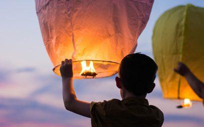 lumière de balllon